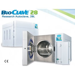 BioClave 28 Research Autoclave, 28 liter, 200V to 240V ONLY