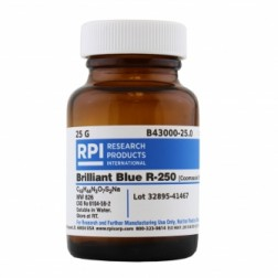 Brilliant Blue R-250 [Coomassie Blue], 25 Grams