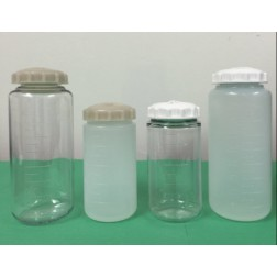 Centrifuge bottles 250ml PP screw closure, CS36