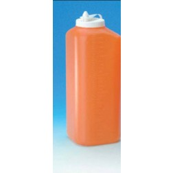 24 hr urine container with dripless spout, CS40