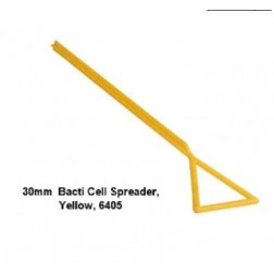 60mm Wide Bacti Cell Spreader, Yellow, PK25