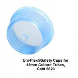 Uni-Flex Safety Caps for 13mm Culture Tubes, Lavender, CS10000