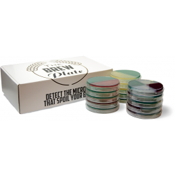 Brew Plate Platinum Kit, 15 Plates - 5 Testing Point - 1 Free ID