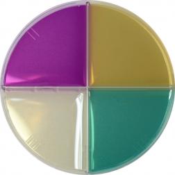 Brew Plate Bulk Sleeve - Yeast Quad Plate - LCSM, LWYM, LM, and WLN