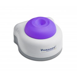 Vornado miniature vortex mixer with purple cup head, 100 to 240V with European 2 prong ADAPTER