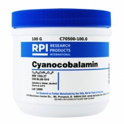 Cyanocobalamin (Vitamin B12), 100 Grams CAS# 68-19-9