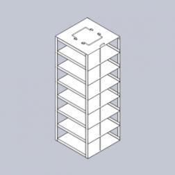Rack only, Box Capacity 7, EA1