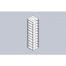 Chest Freezer Matrix Racks, Box Capacity 11, EA1