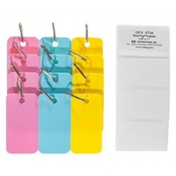 Cryogenic tags for metal racks 2.13in. x 1.18in./54mm x 30mm, 1 pack, 12/PK