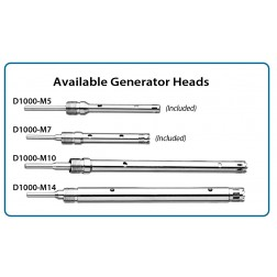 Optional generator, 10mm x 115mm saw tooth, for 15ml & 50ml tubes , EA /1