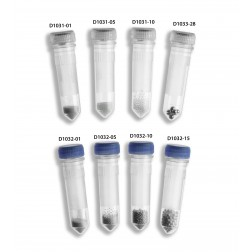 Prefilled 2.0ml tubes, 6 mm Ceria Based Zirconium Oxide Satellite, 50pk, PK /50