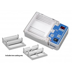 Gel Casting Stand for 10.5x6cm gels, includes 2 trays, and 2 combs (22/12 teeth), EA /1