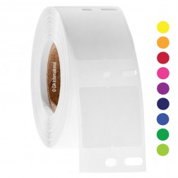 Dymo compatible deep freeze thermal labels 0.5in. x 1in./13mm x 25mm (2 across), 1 roll, 1,000 lab