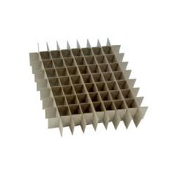Freezer box divider, 49 hole 12/pk
