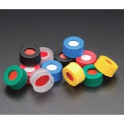 9mm R.A.M.  Smooth Cap, Green, PTFE/Silicone Lined, PK100, CS1000