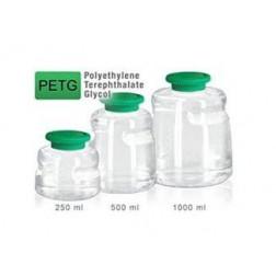 Media Bottle, 1000 ml, PETG, Non-Sterile