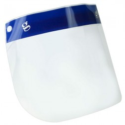 Face Shield, 13 x 8.5in, Flexible, Case of 100
