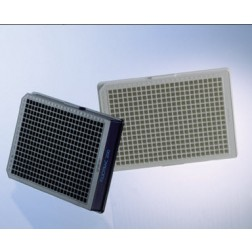 CELL CULTURE MICROPLATE,384 WELL, PS, F-BOTTOM, WHITE, LID, TC, STERILE, 8 PCS./BAG