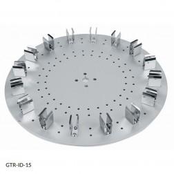 Tube Holder Disk, GTR-ID Series Rotators 16-Place Disk, for 15mL Centrifuge Tubes