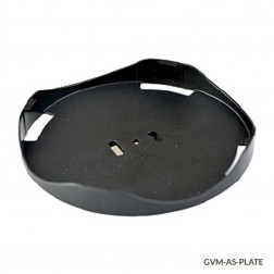 Plate Adapter, Round, 100mm, GVM Series for use w Foam Tube Adptrs & Dimpled Pad