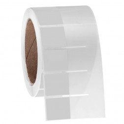 Thermal transfer wrap around deep-freeze labels 1.125in. x 1in. + 1.595in. wrap / 28.6mm x 25.4mm