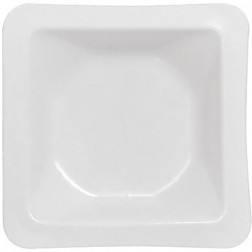 Weigh Boat, Square Large, Anti-static, White PK/500