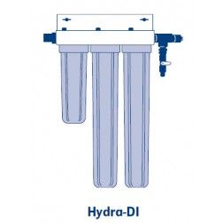 "Hydra High Purity DI System- 4-1/2"" Diameter (10"" Carbon, (2) 20"" Mixed Bed, & 200 K DI Light)"