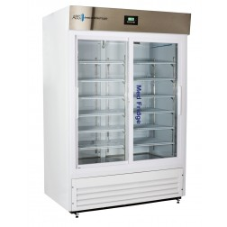 47 Cu. Ft. Premier Pharmacy Standard Glass Door Refrigerator; Double Slide Glass Door