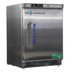 4.5 Cu. Ft. Premier Stainless Steel Refrigerator (Built-In); Left Hinged