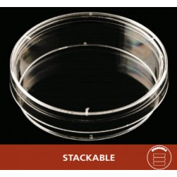 Petri Dish, 60 X 15, Mono Stackable, 20 Dishes/Sleeve, CS500