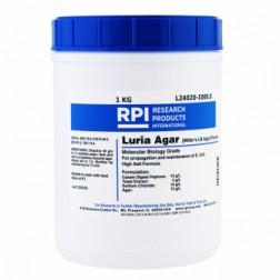 Luria Agar Powder, Miller's LB Agar, 1 Kilogram CAS# 91079-40-2; 8013-01-2; 7647-14-5; 9002-18-0