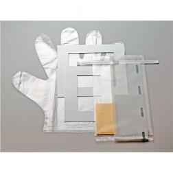 SANI-SPONGE Kit, De-Neutralizing Buffer, in a bag EPR-4590, 4mil, 5.5 x 11in, 20oz CS100