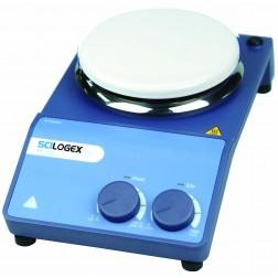 MS-H-S Analog Circular Magnetic Hotplate Stirrer, ceramic plate, 220-240V, 50/60Hz, Euro Plug
