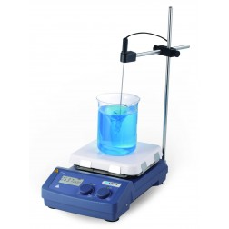 SCILOGEX MS7-H550-Pro LCD Dig. 7 x 7 Magnetic Hotplate Stirrer, ceramic-glass plate, 110V, 50/60Hz