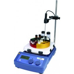 MS7-H550-Pro LCD Digital 7 x 7 Magnetic Hotplate Stirrer, ceramic-glass plate, 220-240V, 50/60Hz E