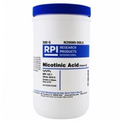 Nicotinic Acid [Vitamin B], 500 Grams CAS# 59-67-6
