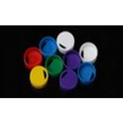 Cap Insert for Cryogenic Vial, Blue, 100/pk, 1000/cs