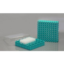 Cryo Box, 1.2/2.0ml, Polycarbonate, 8*8, 1/pk, 40/cs