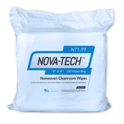 Wipes, Nova Tech 1000, Poly/Cellulose, 18in. X 18in., 150/Bag, 5 BG/CS, 19 X 19 X 11 26 Lbs, CS/75