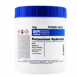 Potassium Hydroxide, 1 Kilogram CAS# 1310-58-3; 7732-18-5