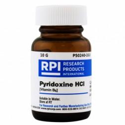 Pyridoxine Hydrochloride [Vitamin B6], 10 Grams CAS# 58-56-0
