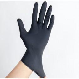 Nitrile Gloves, M, Biodegradable, 4-mil, Black, BX100, CS10BX