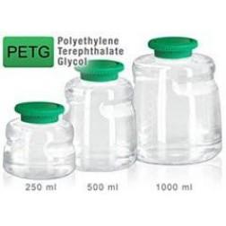 Media Bottle, 250 ml, PETG, Sterile