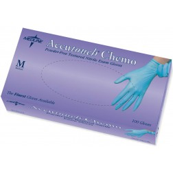 Accutouch Chemo PF Nitrile Exam Gloves,1000/cs, Size=L