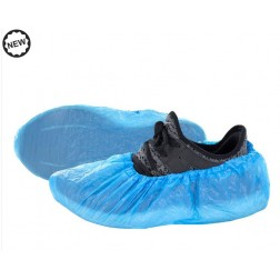 Disposable CPE Shoe Covers, 50 Pair