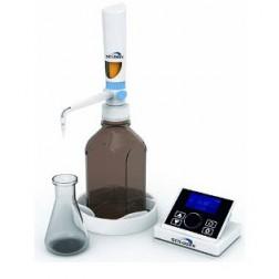 iFlow Motorized LCD Digital Bottle Top Dispenser, with 1L bottle, 0.01-99.99ml, 110-240V, 50/60Hz,