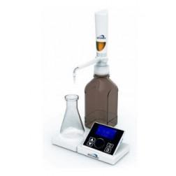 iDrop Motorized LCD Digital Bottle Top Buret 0.01-99.99ml, 110-240V, 50/60Hz, UK Plug