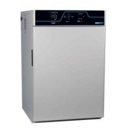 LABORATORY INCUBATOR, 6 CU FT, SS INTERIOR, INNER GLASS DOOR, OUTLET, ACCESS PORT, 115V