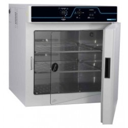 LABORATORY INCUBATOR, 7 CU FT, SS INTERIOR, INNER GLASS DOOR, OUTLET, ACCESS PORT, 115V