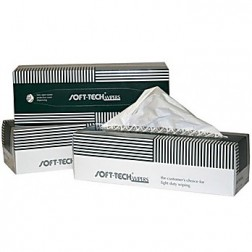 Single Ply Soft-Tech Wipes, 4.5inx 8.5in, 280 wipes/box, 60/cs